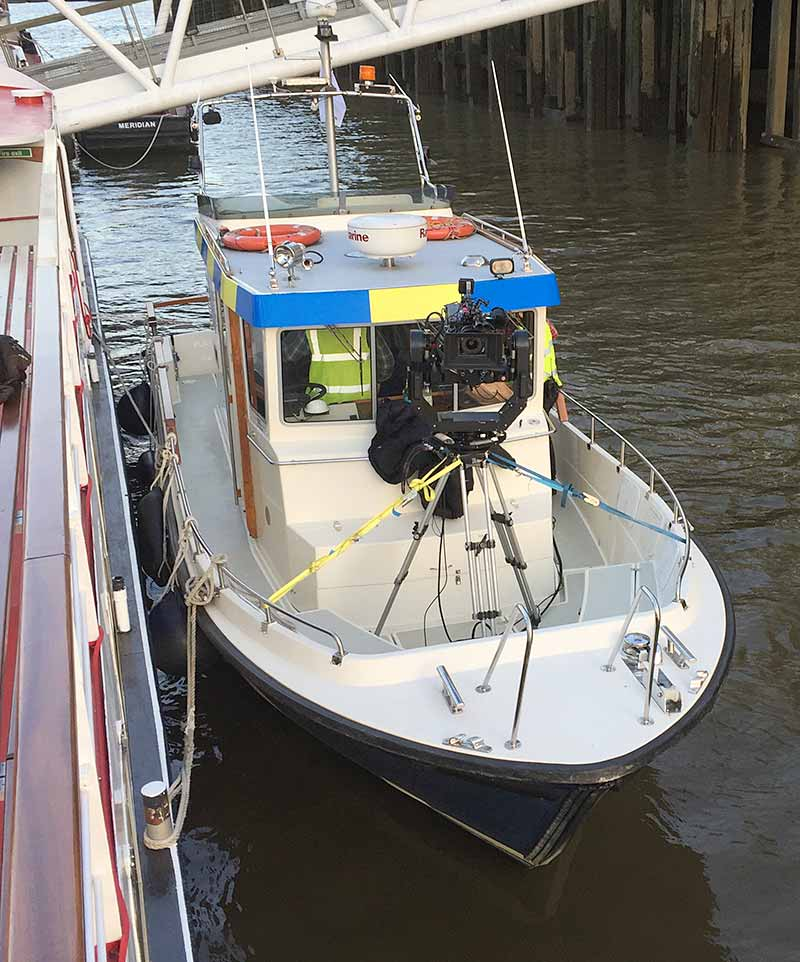 equity river thames filming
