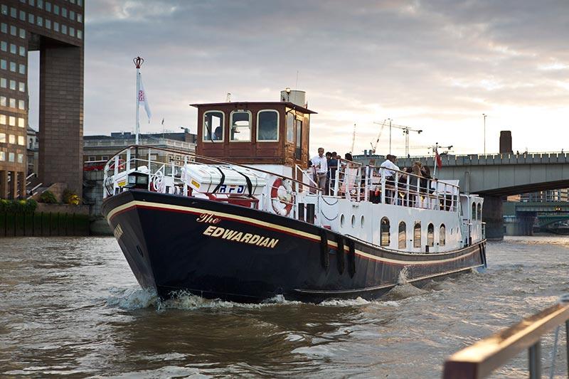 edwadian river thames boat