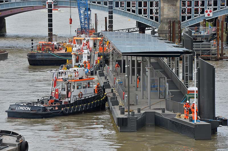 blackfriars pier extension