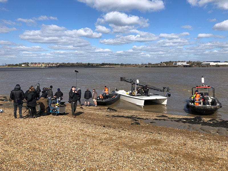 river thames filming dartford