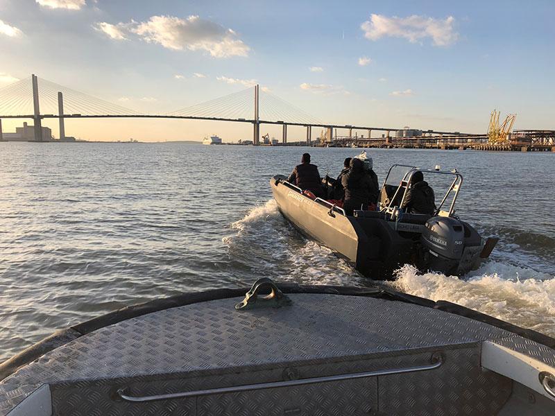 livetts river thames filming dartford sunset