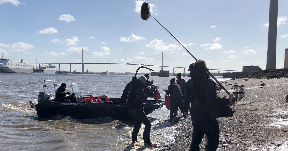 river thames filming