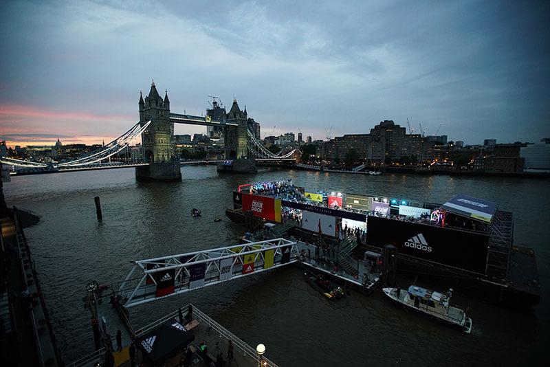 adidas football creator dock tower bridge livett's