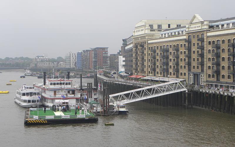 butler's wharf pier