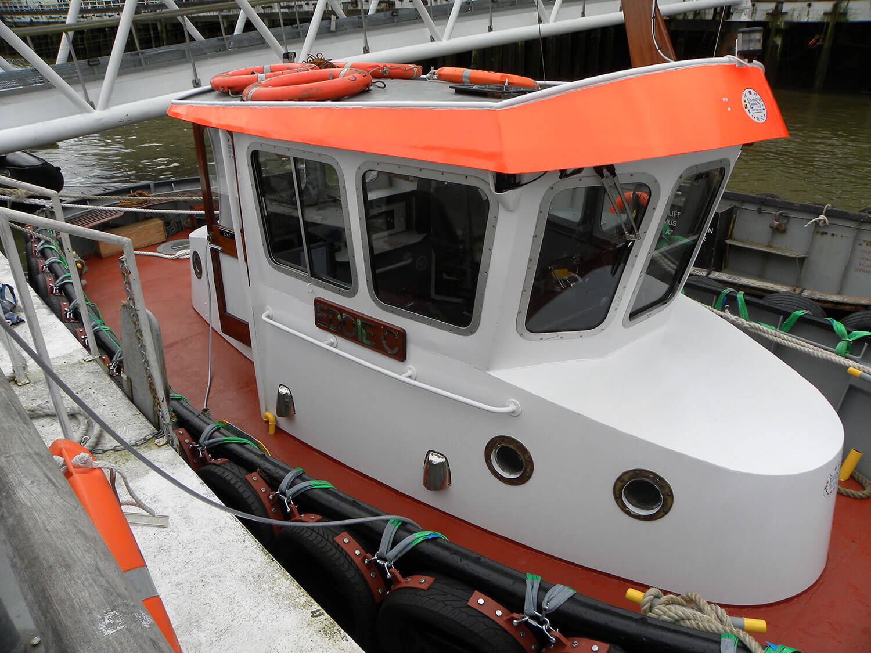 eddie c boat river thames livett's