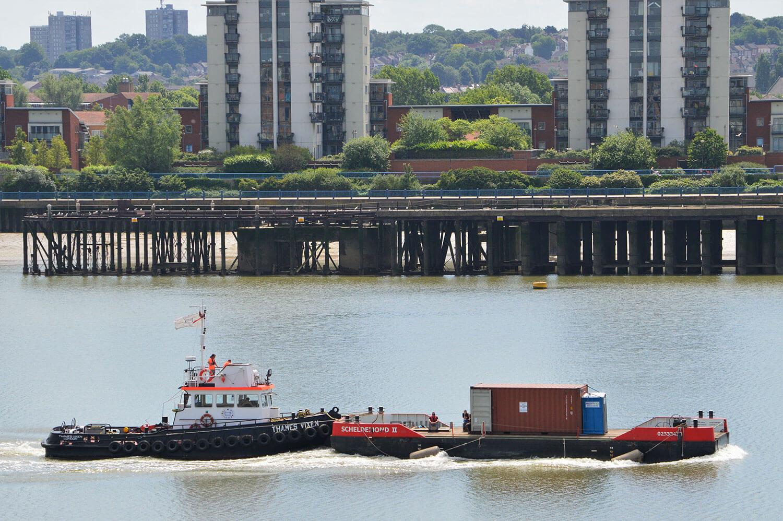scheldemond ii boat river thames livett's
