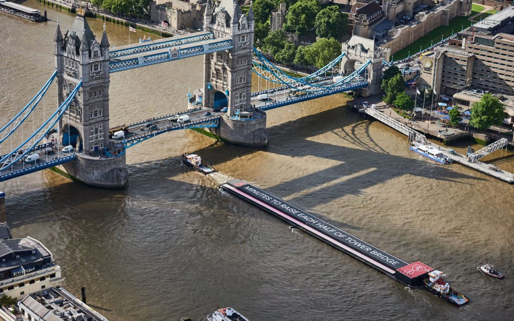 virgin media be the fastest tower bridge